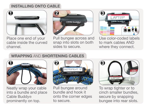 Cable Buddy How To